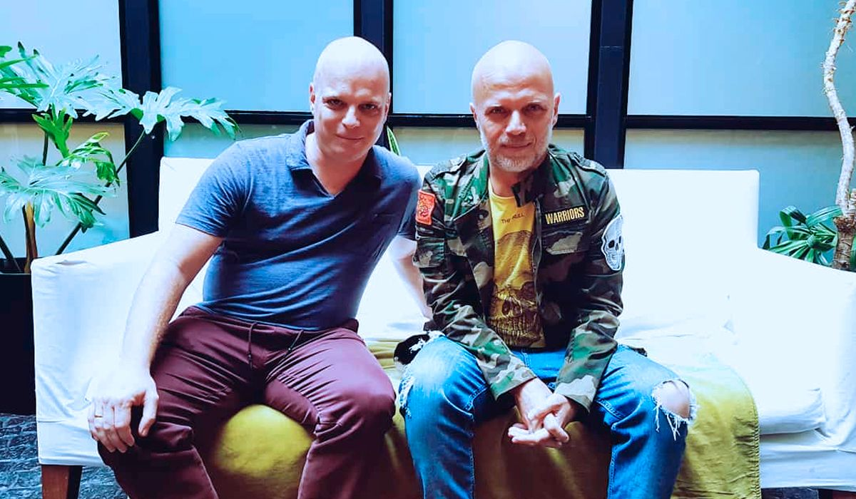 El clon y Sebastián Wainraich