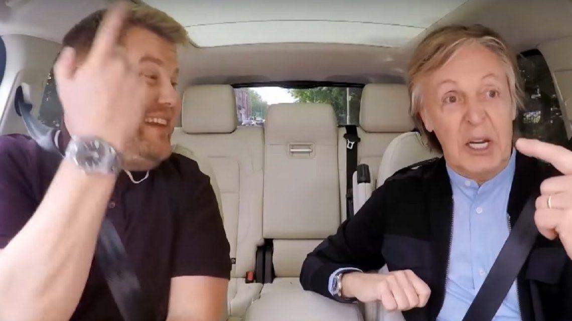 El Carpool Karaoke navideño con Paul McCartney, Michael Bublé, Ariana Grande y más