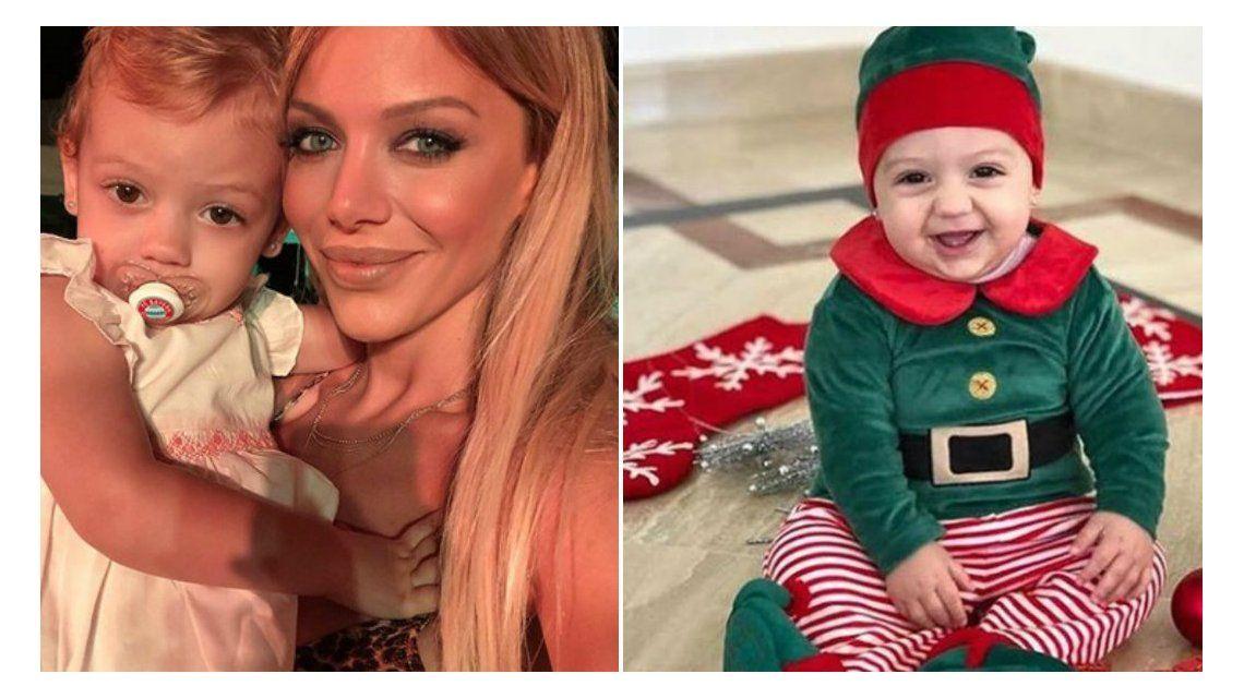 Los looks navideños de la hija de Evangelina Anderson