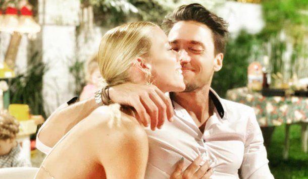 Nicole y Tasín, súper enamorados tras un impasse<br>