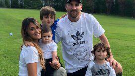 La familia Messi