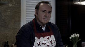 Kevin Spacey en su video Let me be Frank