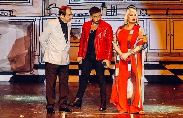Santiago Bal, Fede Bal y Carmen Barbieri <br>