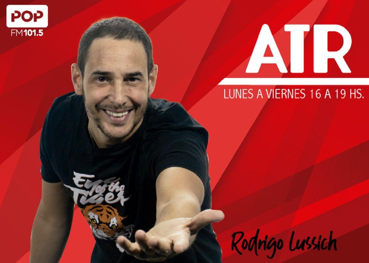 Rodrigo Lussich se suma a POP 101.5 con un programa ATR