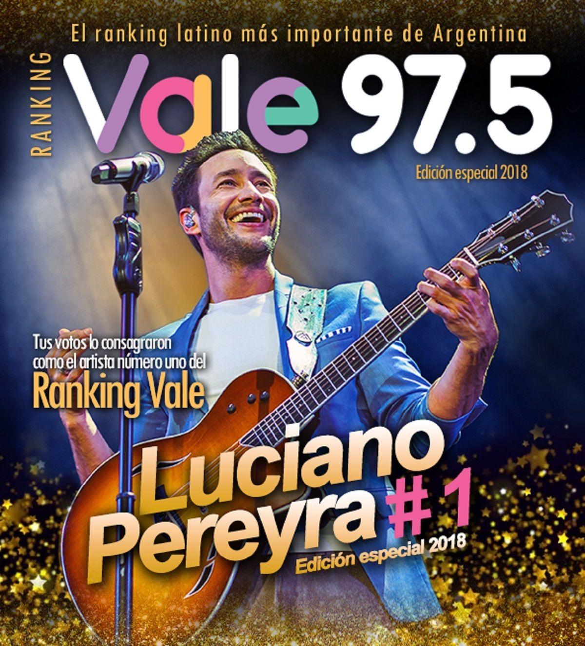 Luciano Pereyra, el más destacado del Ranking Vale