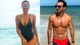 Lo que no se vio de las fotos de Pampita y Pico Mónaco en las playas de Punta del Este