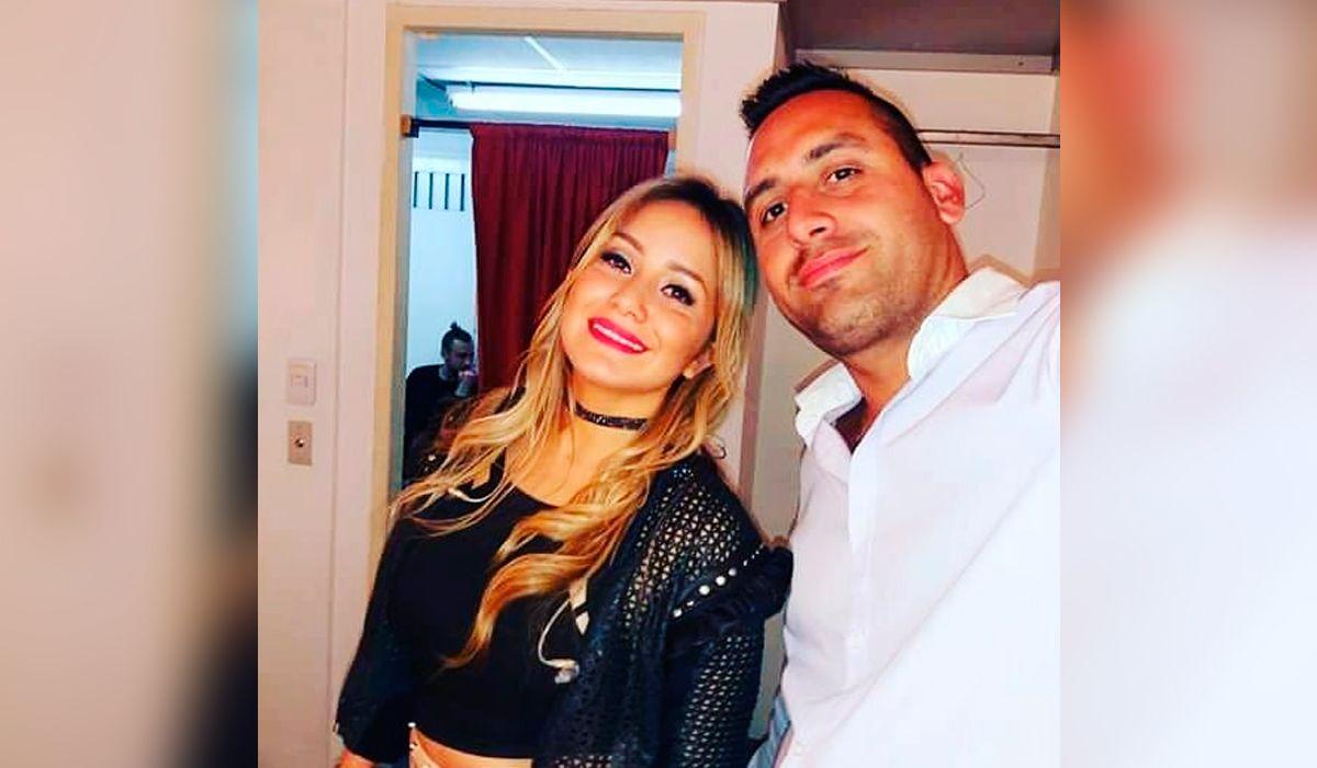 Karina y su hermano Ezequiel Tejeda