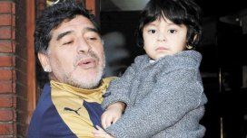 Diego Maradona se reencontró con Dieguito Fernando: Papá cómo te extrañé