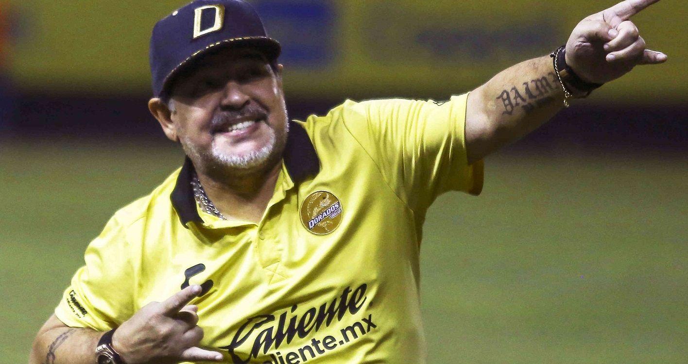 La foto del reencuentro de Diego Maradona y Dieguito Fernando