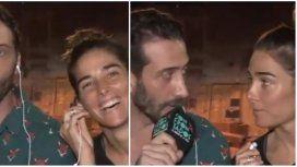 Las ironías de Juana Viale y Luciano Cáceres por los rumores de romance