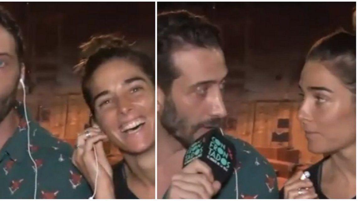 Juana Viale y Luciano Cáceres responden a los rumores de romance
