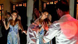 Messi y Antonela a puro baile