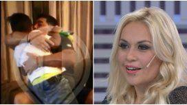 Verónica Ojeda lloró de emoción por el reencuentro de Maradona con Dieguito