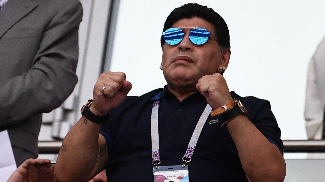 Diego Maradona: Quiero agradecer los mensajes de aliento