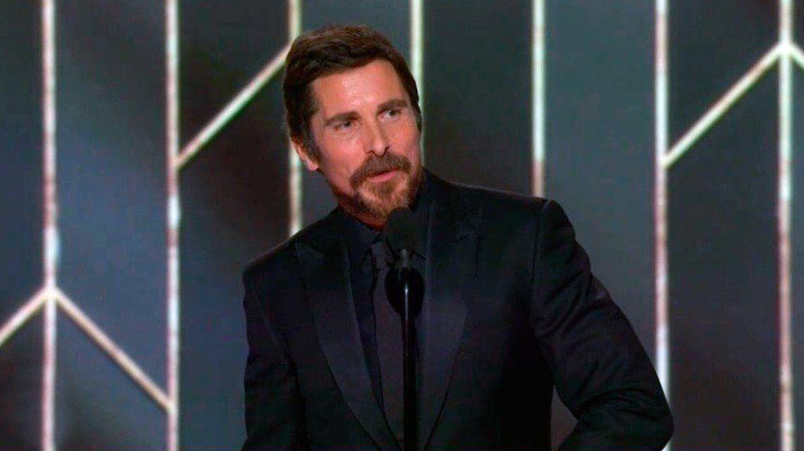La dedicatoria más insólita en los Globos de Oro: Christian Bale le agradeció al Diablo