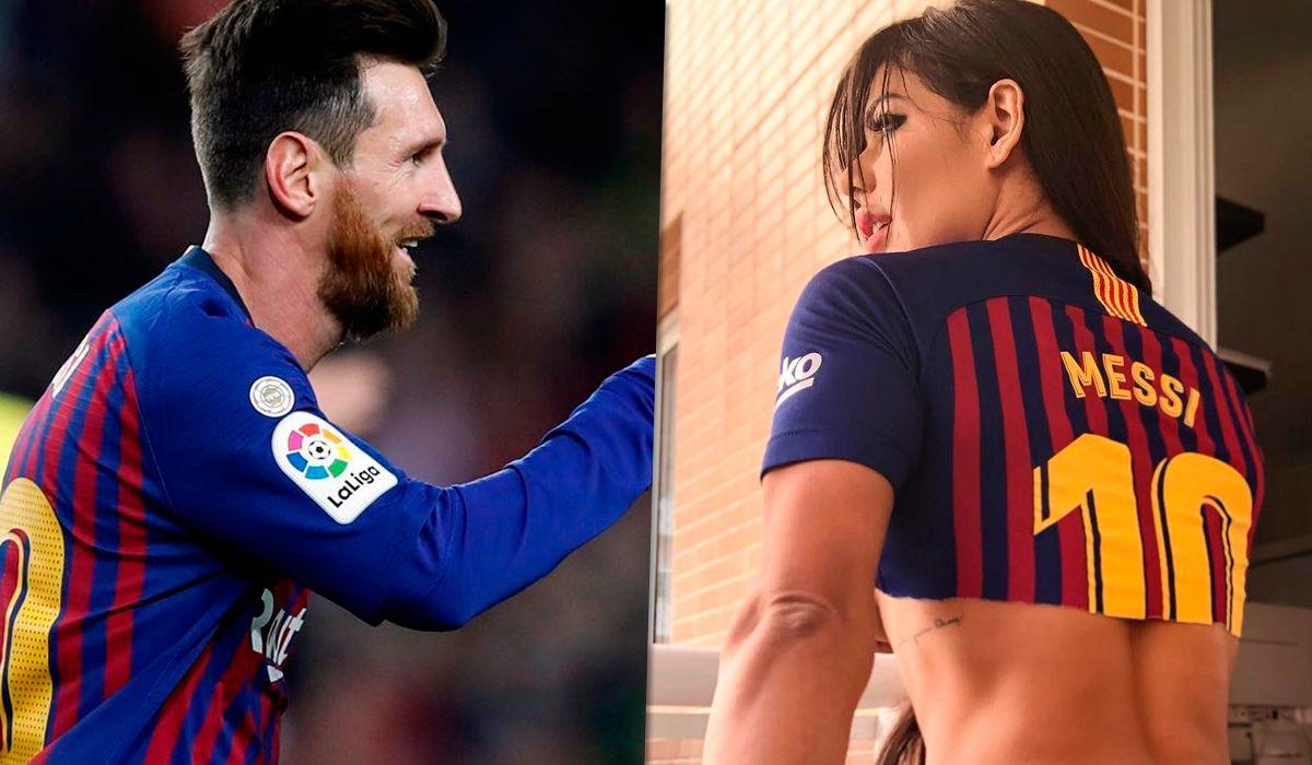 Suzy Cortez se tatuó en homenaje a Messi