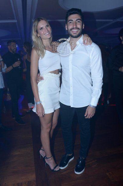 Eva Bargiela y Facundo Moyano, nuevamente juntos (foto gentileza Gente)<br>