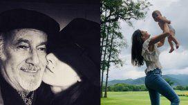 Desgarrador relato de Isabel Macedo por su padre: Me duele hasta el alma que no puedas ver a mi bebita