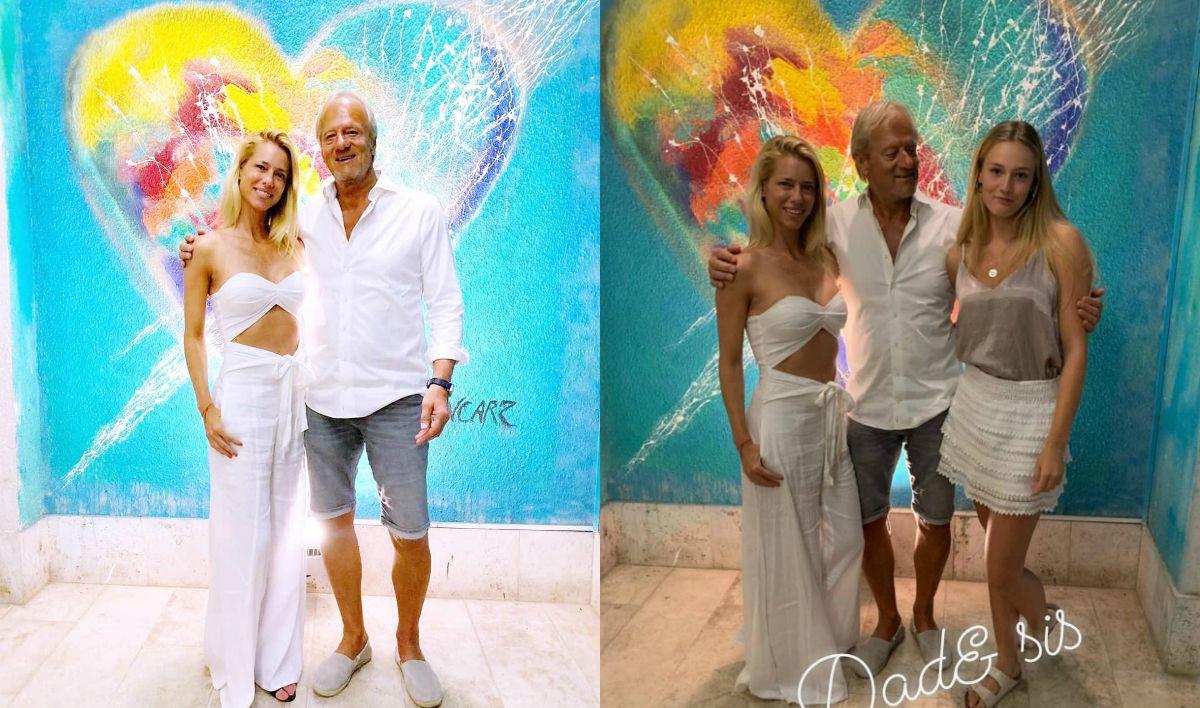 El reencuentro de Nicole Neumann con su papá y su hermana