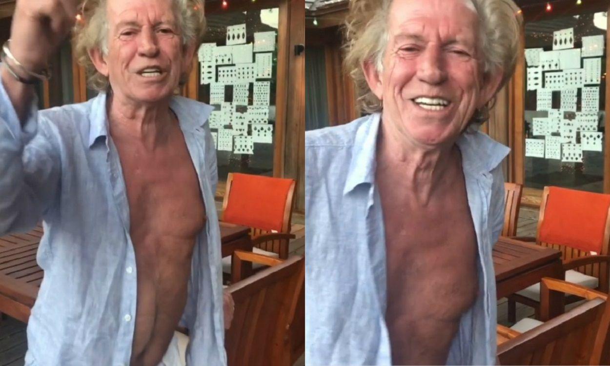 El tardío mensaje de Año Nuevo de Keith Richards que se hizo viral