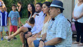 Tras la internación, operaron a Diego Maradona de una hernia