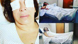Operaron a Lizy Tagliani: sus divertidos videos bajo los efectos de la anestesia