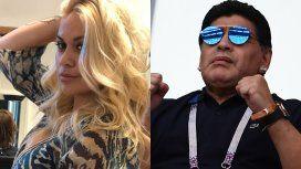 Verónica Ojeda confirmó que ve todos los días a Maradona por su hijo Dieguito Fernando