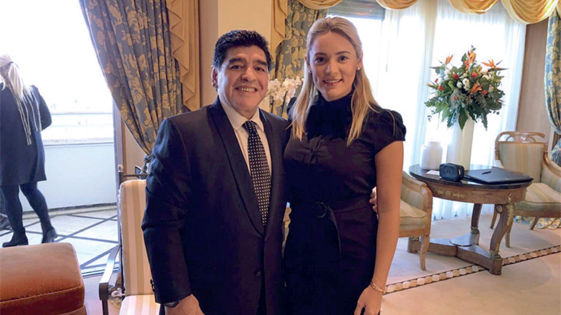 Diego Maradona: Rocío Oliva está fuera de mi vida, me hizo de todo