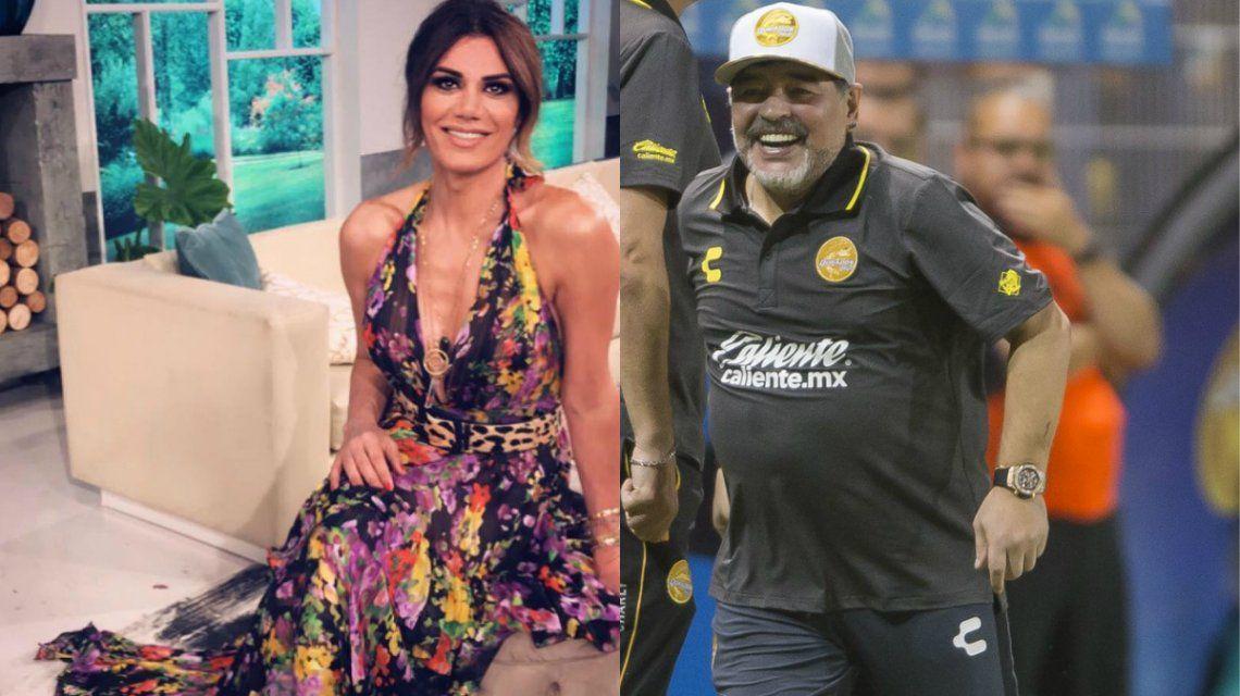 Flor le contestó a Maradona