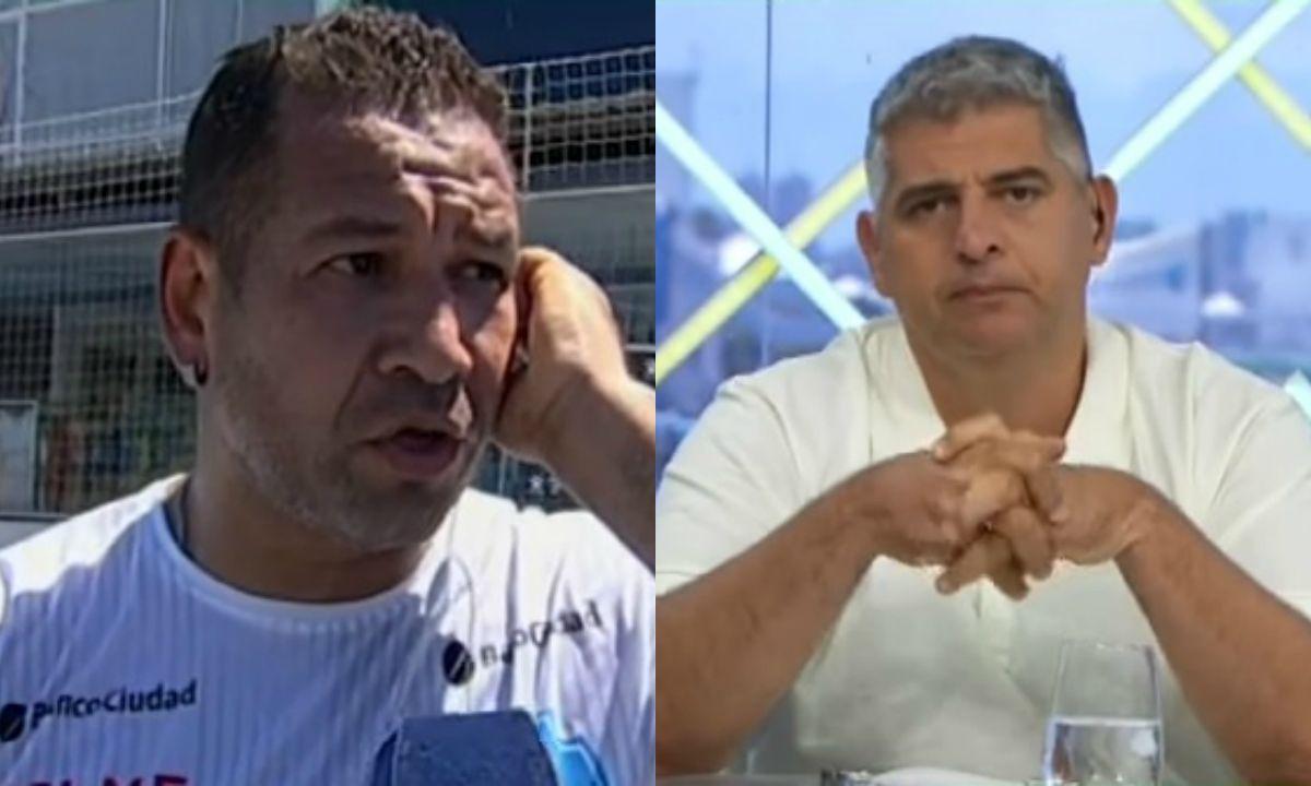 Tremenda pelea entre Chipi Barijho y Leo Farinella: Está gordito, no se puede mover