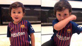 El video de Mateo Messi que revolucionó las redes con un final inesperado
