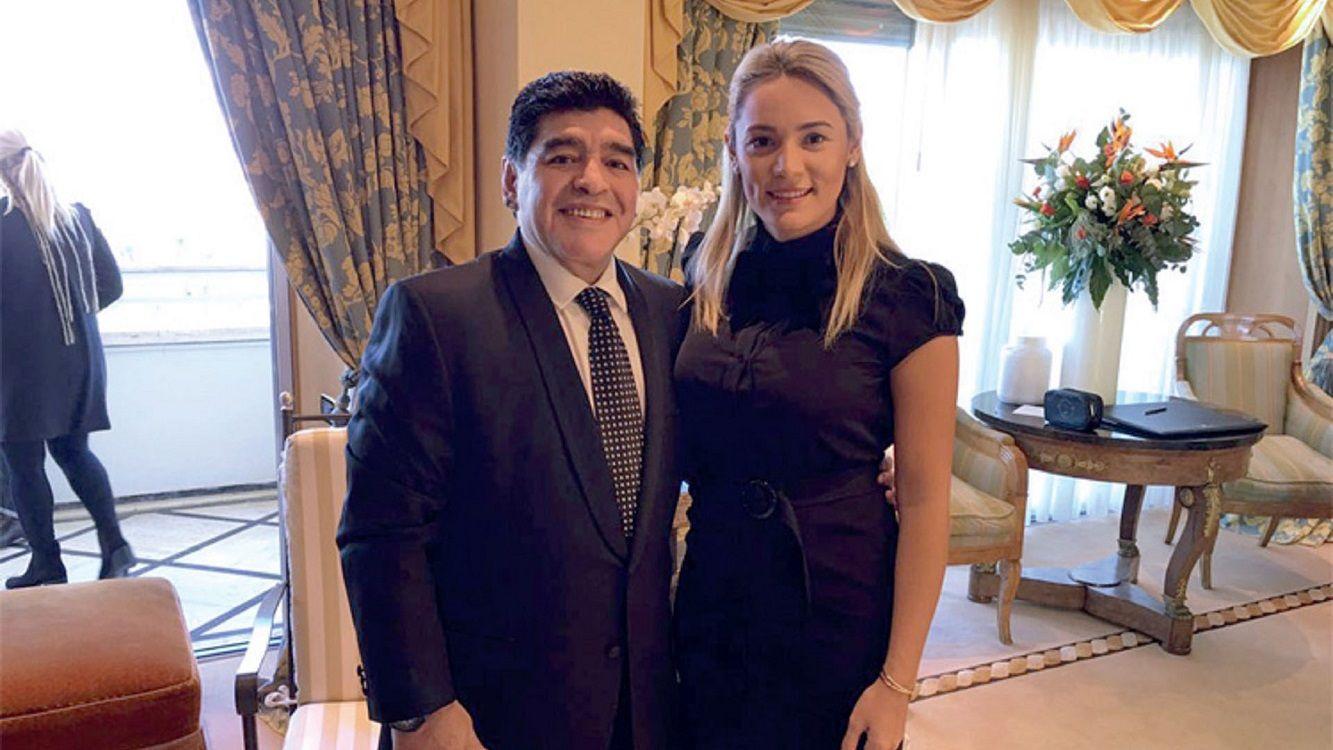 Luis Ventura: Rocío Oliva empujó y le generó una lesión a Maradona