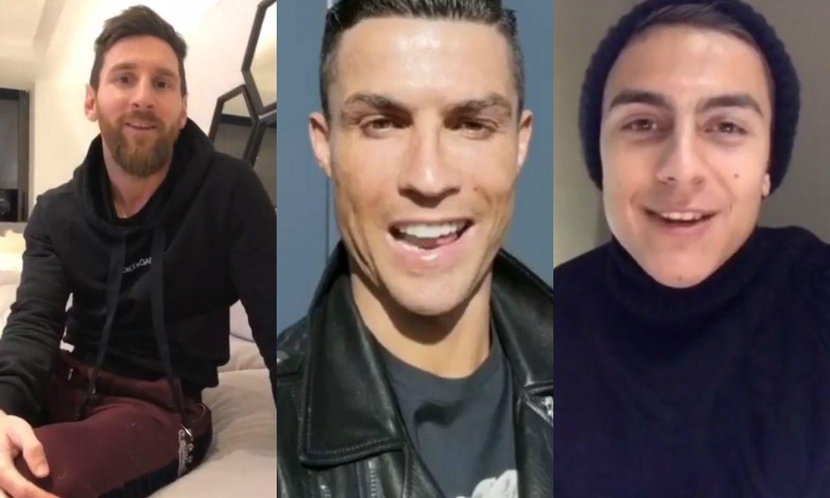 El saludo de cumpleaños al hijo de Wanda Nara: Messi, Cristiano, Dybala y más