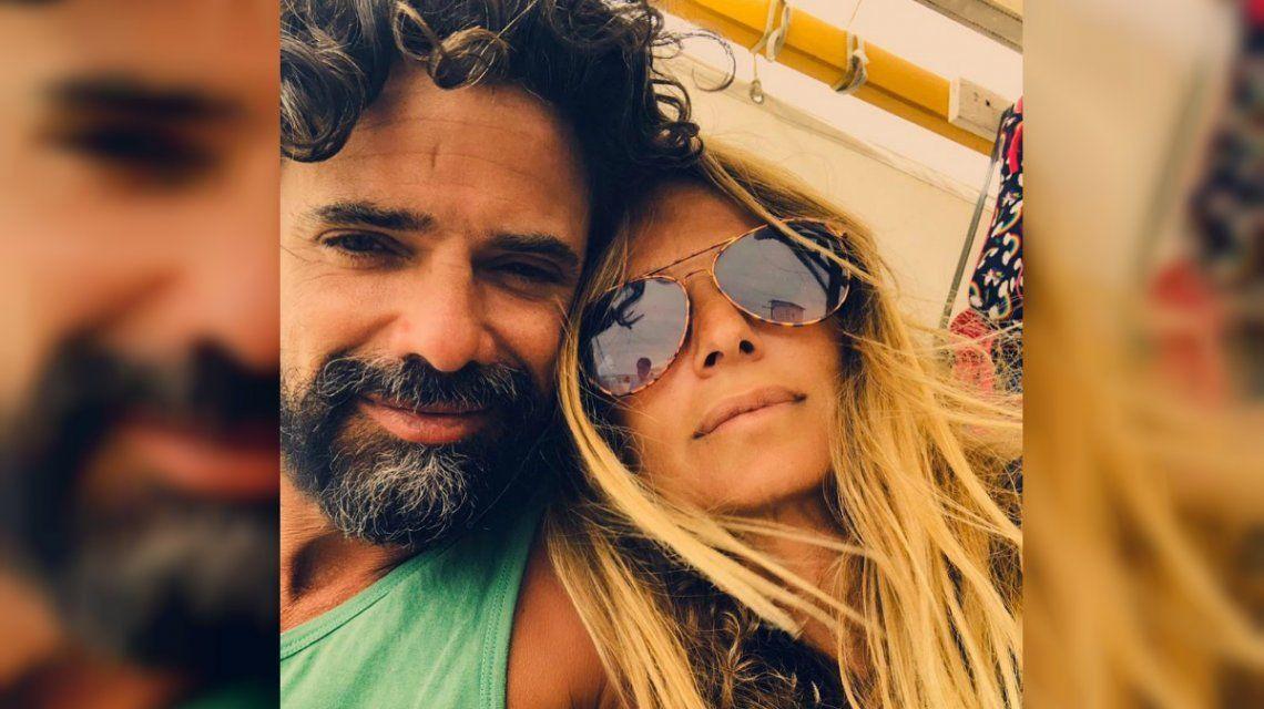 Luciano Castro publicó esta foto junto a Sabrina Rojas