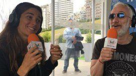 Picante ida y vuelta entre Juana Viale y Andy Kusnetzoff por el parecido de PH con el programa de Mirtha
