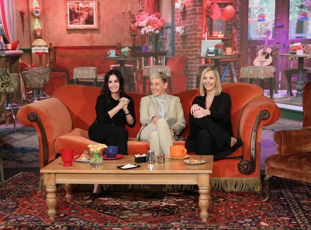 Las actrices de Friends que se reunieron en el show de Ellen DeGeneres