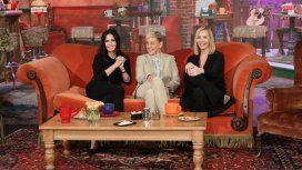 Lisa Kudrow y Courteney Cox, juntas en el show de Ellen DeGeneres