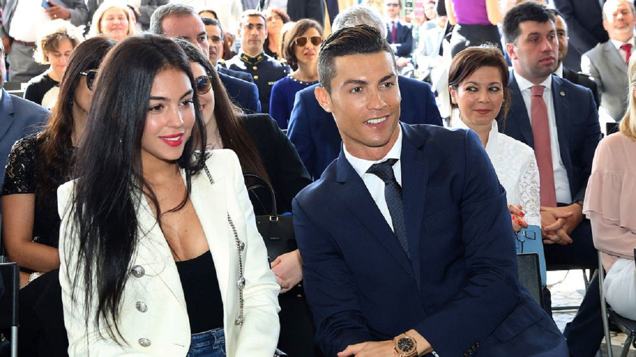 Murió el padre de la novia argentina de Cristiano Ronaldo