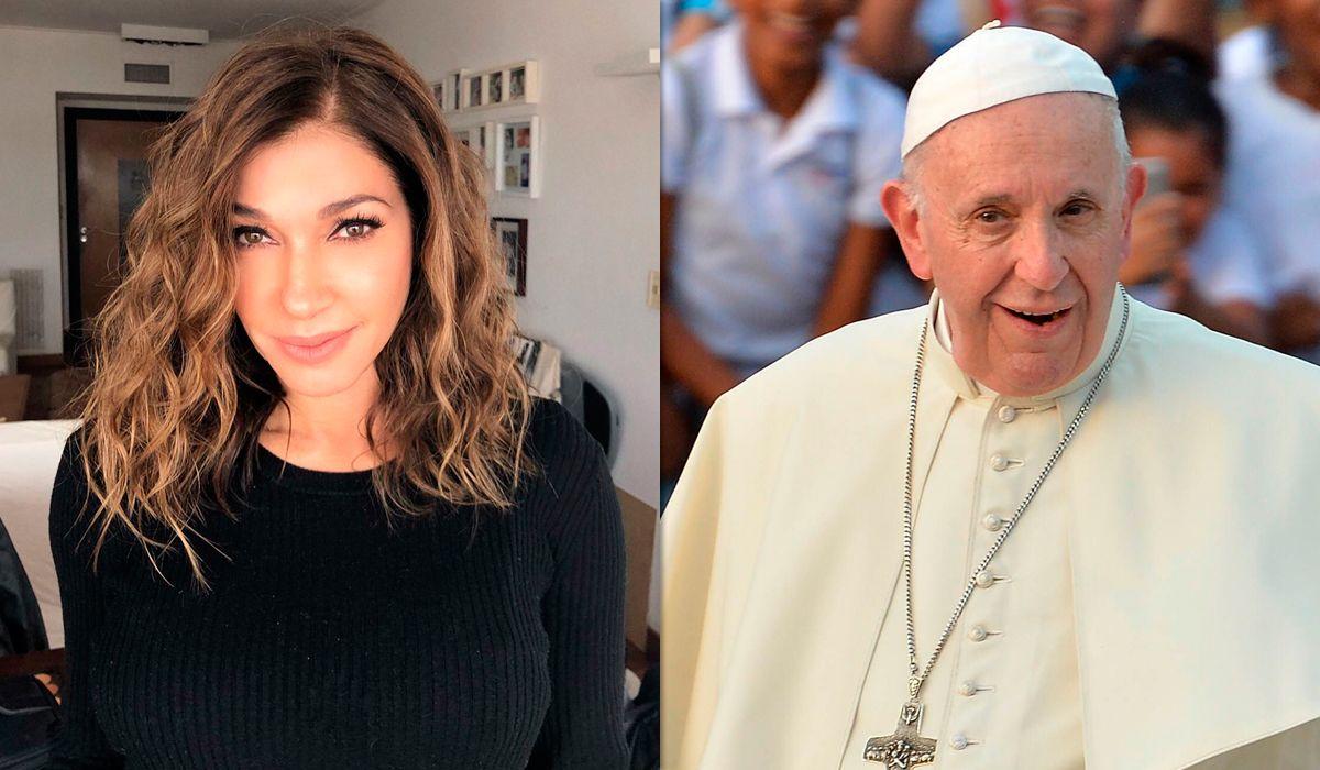 La ofensiva publicación de Catherine Fulop contra el papa Francisco