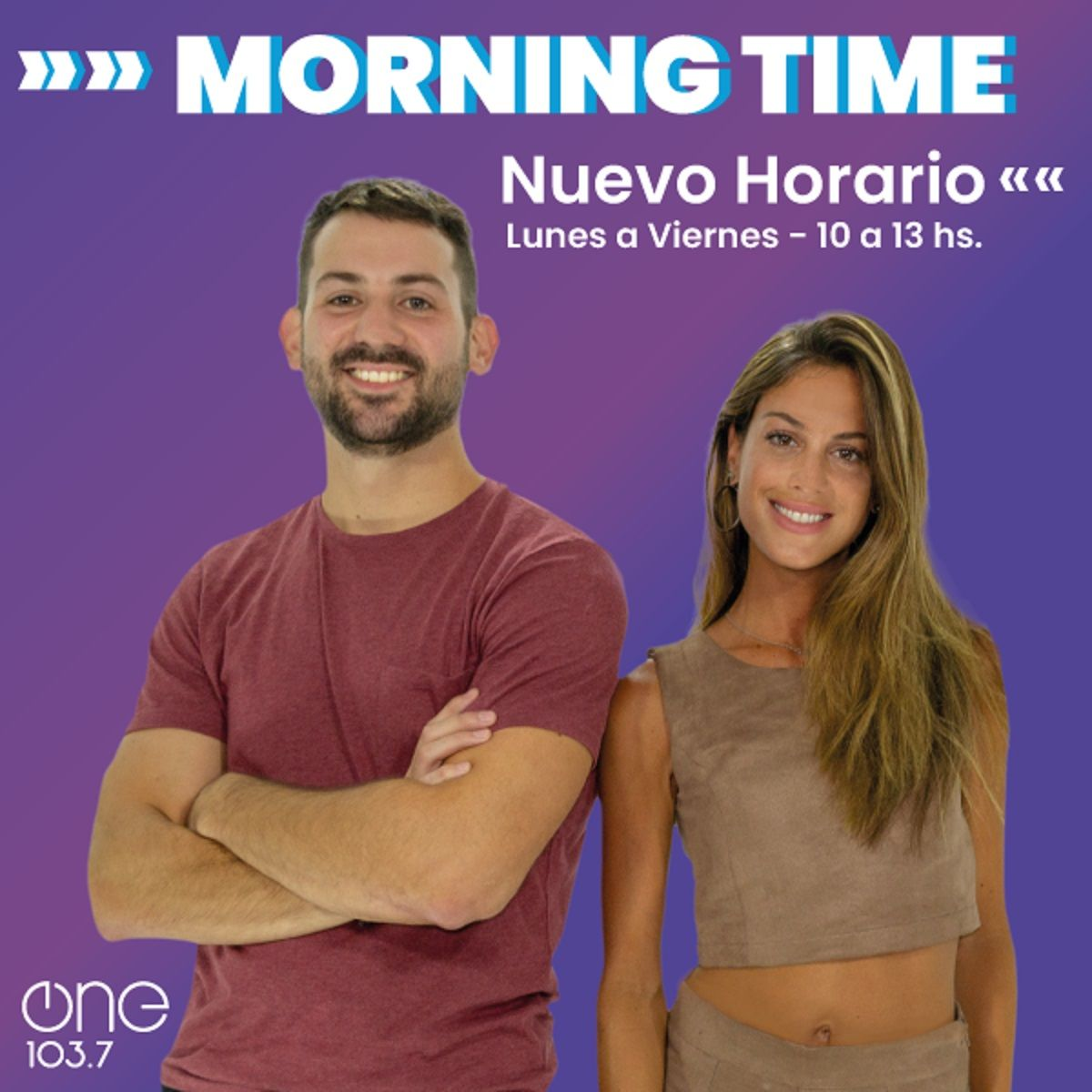 Nuevo horario para Morning Time en One 103.7