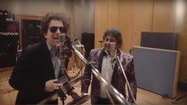 Imperdible: la cumbia que Andrés Calamaro grabó junto a Los Palmeras
