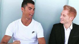 El afectuoso y llamativo saludo de Martín Liberman a Cristiano Ronaldo por su cumpleaños