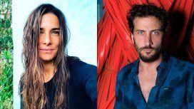 Las fotos de Juana Viale y Luciano Cáceres a los mimos en un bar