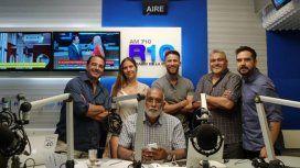 El equipo de Negro y Regreso de lunes a viernes de 13 a 17 en Radio 10