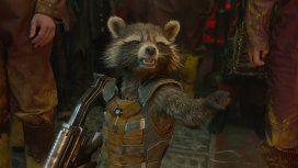 Murió Oreo, el mapache de Guardianes de la galaxia