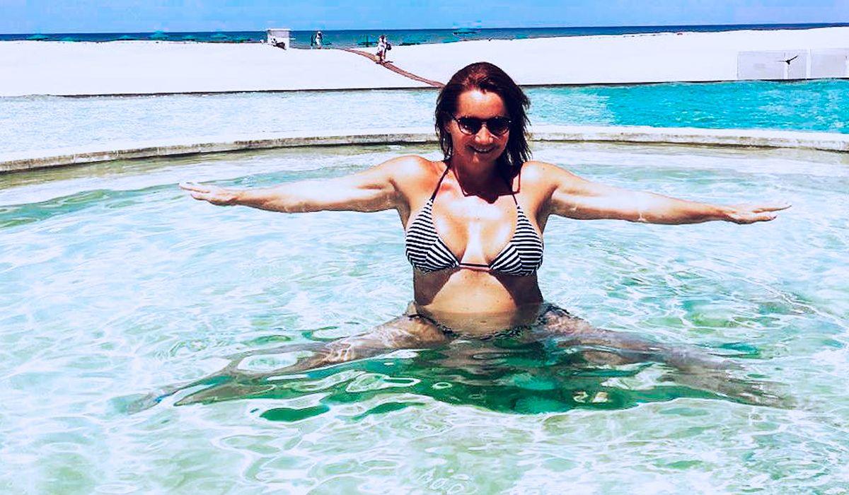 Nancy Pazos mostró su lomazo luego de adelgazar 25 kilos