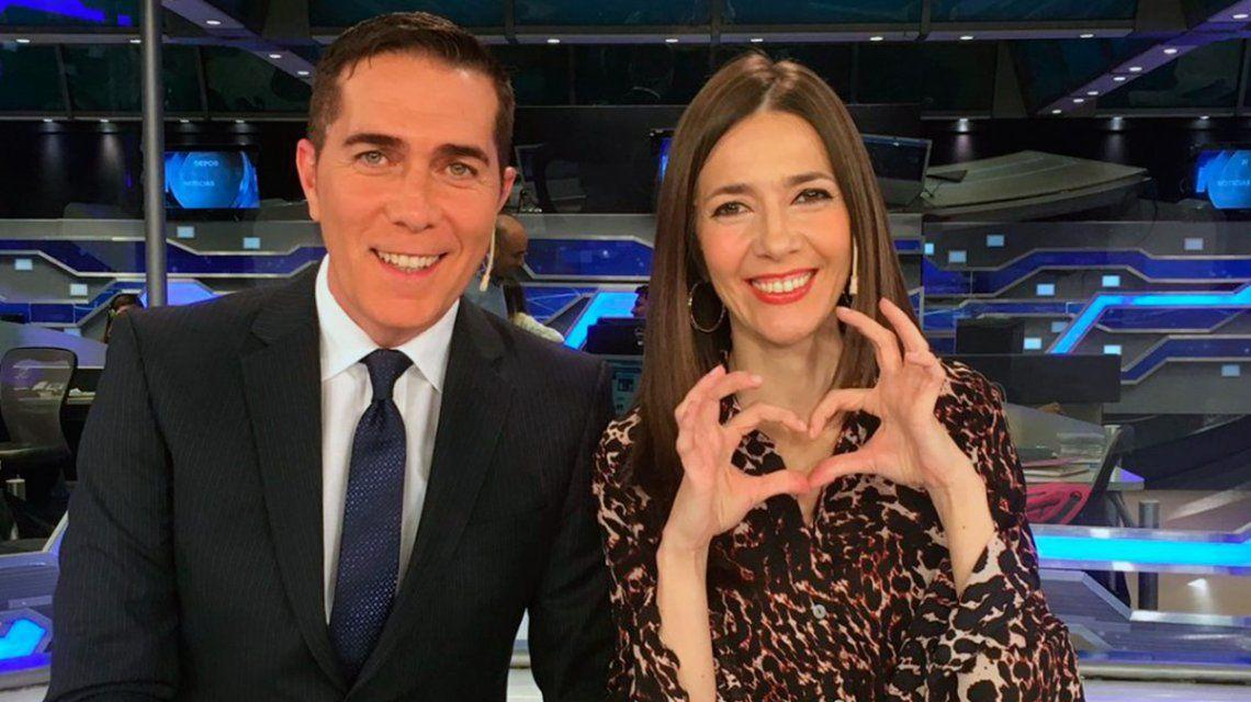 Una entrevistada incomodó a Rodolfo Barili y Cristina Pérez: ¿Ustedes tienen un romance?