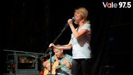 Radio Vale 97.5 celebró el Día de los enamorados con un show íntimo de Marcela Morelo