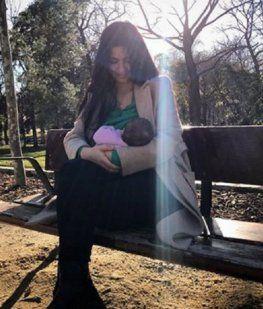 Nació Olivia, la hija de Rodrigo de la Serna y Ludmila Romero