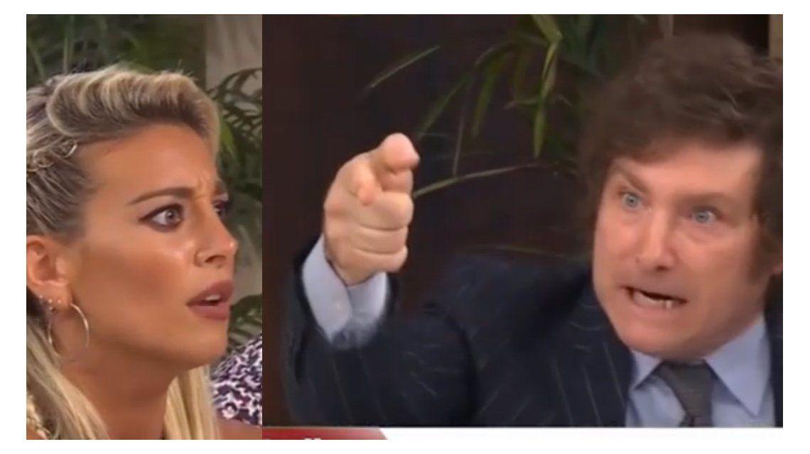 Tremenda discusión entre Sol Pérez y Javier Milei